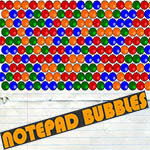 Notepad Bubbles