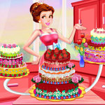 Princess Dede Sweet Cake Decor