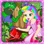 Princess Juliet Garden Trouble