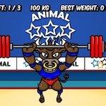 Animal Olympics: Weight Lifting