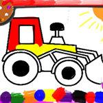 Bts Kids Car Coloring